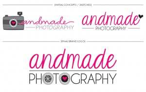 Brand Image Design by Dandyline Designs - Andmade Photography