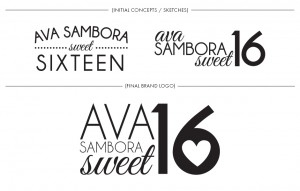 Brand Image Design by Dandyline Designs - Ava Sambora's Sweet 16