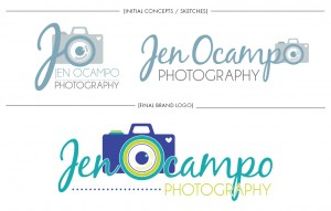 Brand Image Design by Dandyline Designs - Jen Ocampo Photography