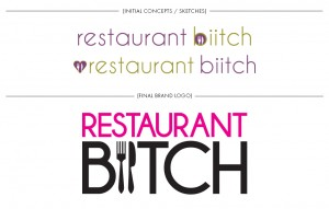 Brand Image Design by Dandyline Designs - Restaurant Biitch