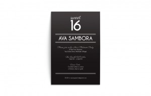 Print and Brand Image Design by Dandyline Designs - Ava Sambora Invitations