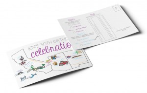 Print and Brand Image Design by Dandyline Designs - Custom Birthday Invitation Design