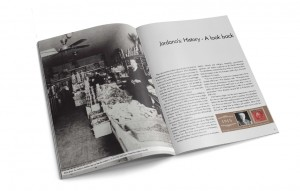 Print and Brand Image Design by Dandyline Designs - Custom Historical Booklet Design, Jordano's