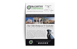 Print and Brand Image Design by Dandyline Designs - Custom Advertisement Design: McCarthy Companies